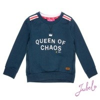 Foto van Jubel - 916.00167 sweater blue melange wi18