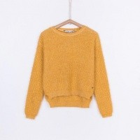 Foto van Tiffosi - Dee 10023536 yellow sweater wi18