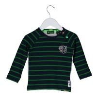 Foto van B.Nosy - Y808-8403 baby jongens peacock shirt wi18