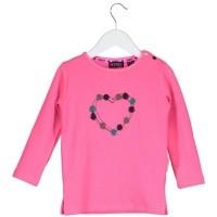 Foto van B.Nosy - Y808-7404 neon magenta baby meisjes sweatshirt wi18