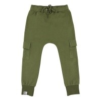 Foto van Six hugs & rock n roll - Sweatpants baggy khaki pockets wi18