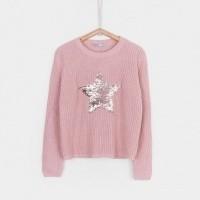Foto van Tiffosi - Aime 10023535 pink sweater wi18