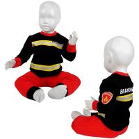 Foto van Fun2wear - Brandweer pyjama baby zwart