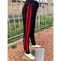 Foto van Gabbiano - 7360 jogging pant met rode bies wi18