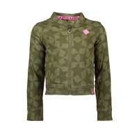 Foto van B.Nosy - Y809-5390 girls jacket crocodile wi18