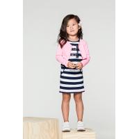 Foto van Bampidano - A801-5840 sleeveless jurk stripe navy zo18