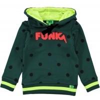 Foto van Funky XS - Funk sweater bottle green wi18