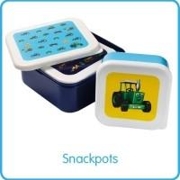 Foto van tractor Ted - snackbakjes