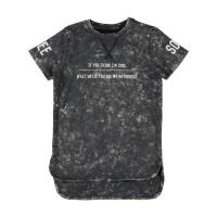 Foto van Name it - Nkmhavis dark sapphire t-shirt long fit zo18