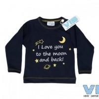 Foto van VIB - Shirt navy I love you to the moon...