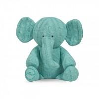 Foto van Jollein - Knuffel cable elephant jade