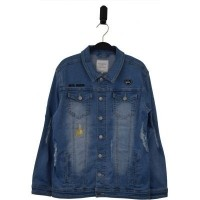 Foto van Hound girls - 7180267 oversized light denim jack zo18