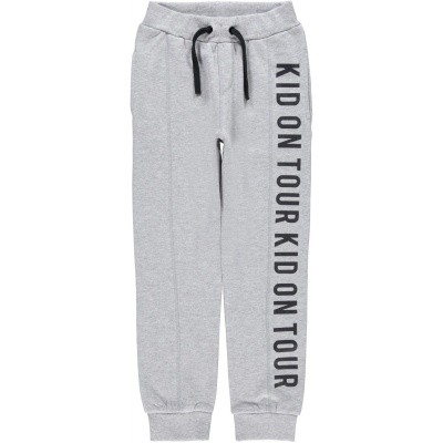 Name it - Mole grey melange sweatpants wi18