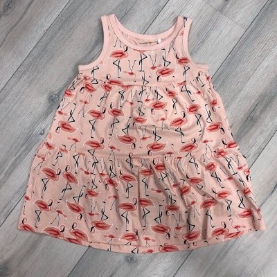Name it - Vigga spencer dress flamingo zo18
