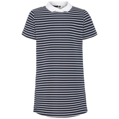 Name it - Nalia tuniek jurkje navy/white/stripe LANGE MOUW wi18