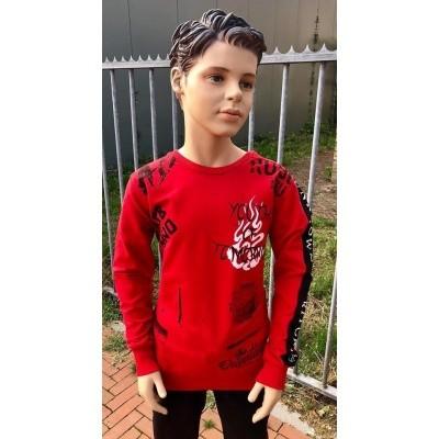 Gabbiano - 7375 sweater red wi18