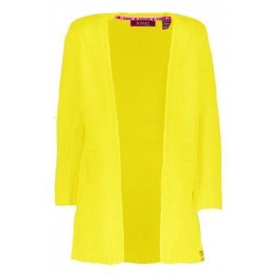 B.Nosy - Y809-5391 meisjes long vest canary wi18