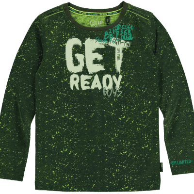 Quapi - Leonard dark green camouflage wi18