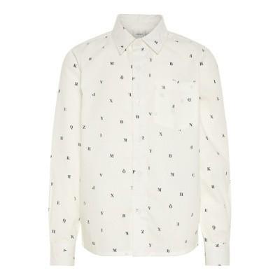 Name it - Elias blouse lightning snow white wi18