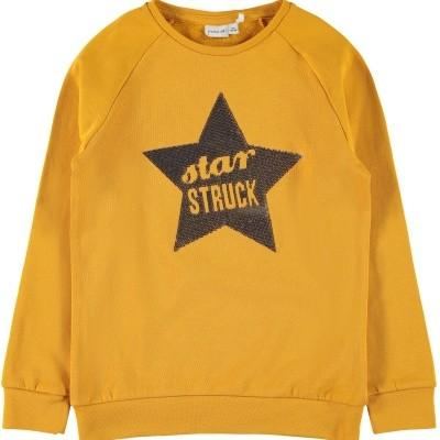Name it - Ritta sweater okergeel wi18