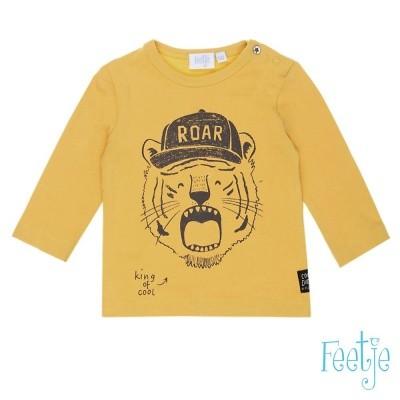 Feetje - Longsleeve 516.01098 geel wi18