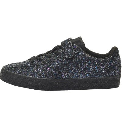 Hummel sneaker - Diamant Glitter jr black wi18
