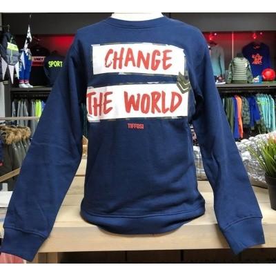 Tiffosi - Paco blue 10023434 sweater wi18