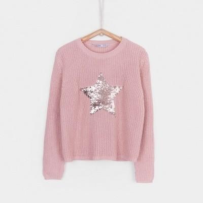 Tiffosi - Aime 10023535 pink sweater wi18