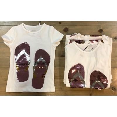 Name it - Jip flip flap shirt bright white zo18