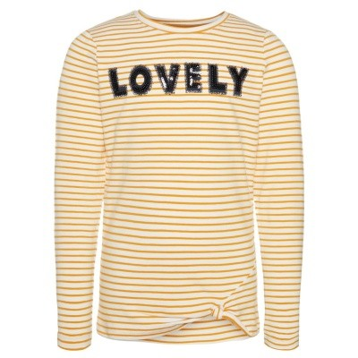 Name it - Haily longsleeve sunflower wi18