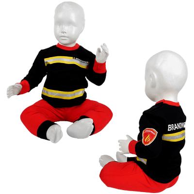 Fun2wear - Brandweer pyjama baby zwart