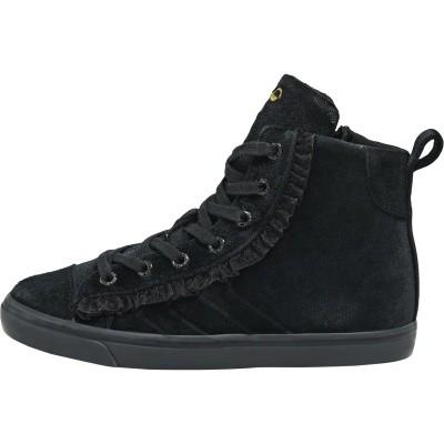 Hummel sneaker - Strada VELVET jr black wi18