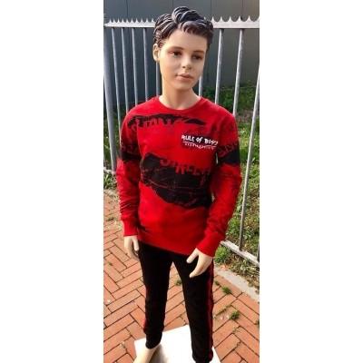 Gabbiano - 7374 sweater red wi18