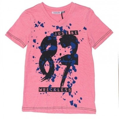 2WENTY5IVE - Paint splash jongens t-shirt zo18