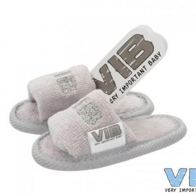 VIB - Badslippers grijs