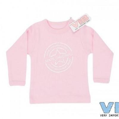 VIB - shirt 100% original roze