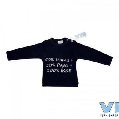 VIB - 50% mama+50% papa=100% ikke