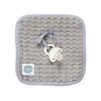 Jollein - Speendoekje 20x20cm waffle grey