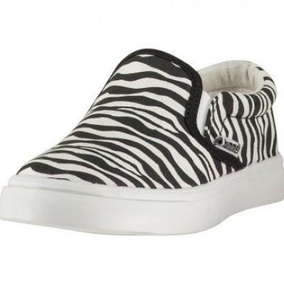 Hummel Slip on Zebra jr black zo17