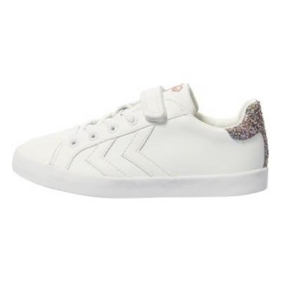 Hummel - Deuce court princess jr witte sneaker zo18
