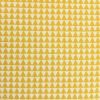 Afbeelding van Sier kussen driehoek oker geel/wit