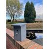Afbeelding van Vogelhuisje/ nestkastje mezen, grijs rechthoekig
