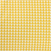Afbeelding van Sier kussen driehoek oker geel/wit (rechthoek)