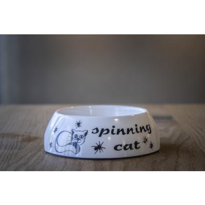 Kattenvoerbakje 'spinning cat'