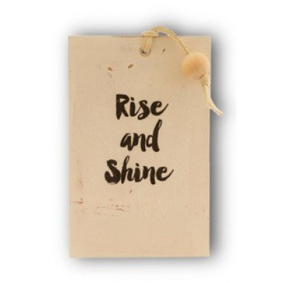 Foto van Houten kaart: Rise and shine