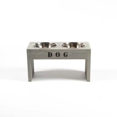Hondenbak steigerhout hoog model