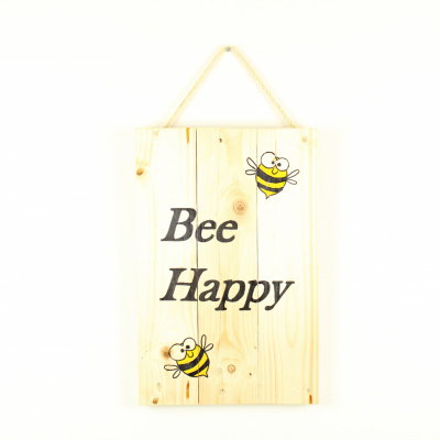 Wandboord Bee Happy