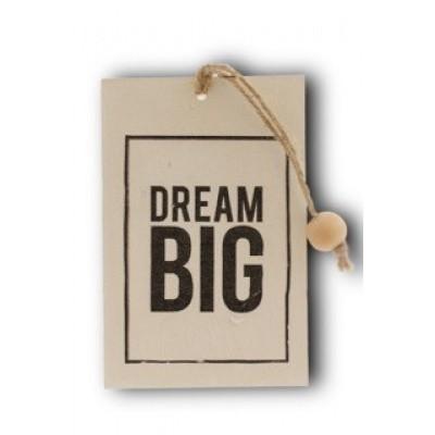 Foto van Houten kaart: Dream big