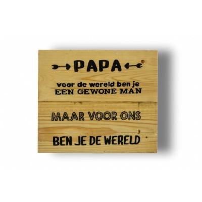 Wandbord voor een papa
