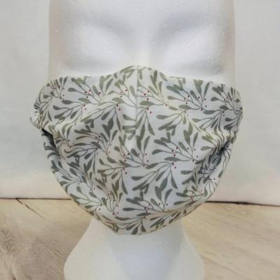 Handgemaakt wasbaar katoenen mondkapje